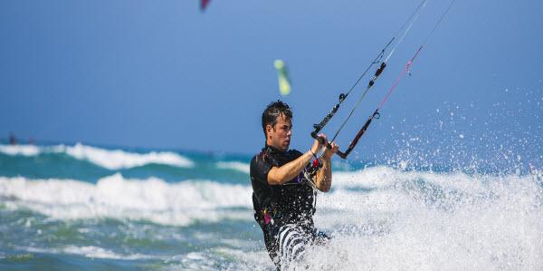 Kitesurfing Sunweb Sea Mannen