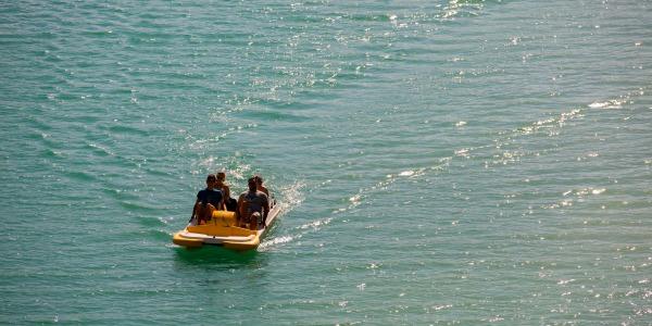 waterfietsen in Oostenrijk