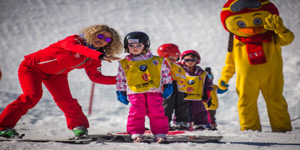Kinderskischool Courchevel