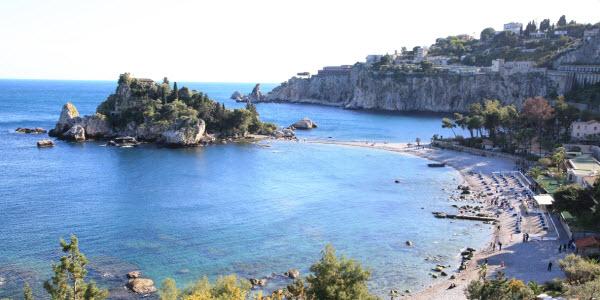 Italie - Sicilie - Taormina - Isola Bella