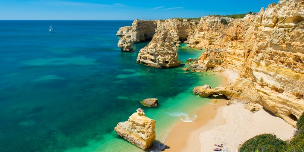 Praia da Marinha - waarom naar portugal
