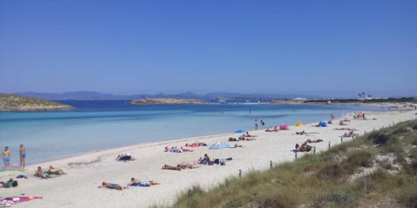 Spanje - Formentera - Playa Ses Illetes