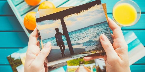 Vakantie napret, foto album maken