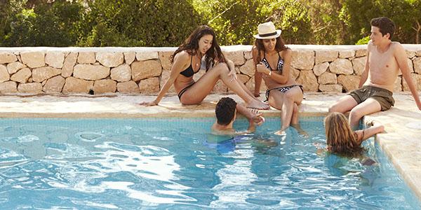 greece tieners zwembad