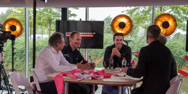 Team Sunweb - Tom Dumoulin - Huldiging - Talkshow blog