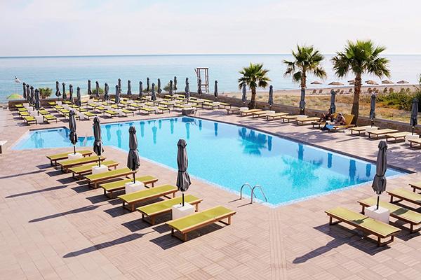 Geweldige ligging aan zee van Selections appartement op Kreta