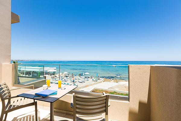 Schitterend uitzicht over zee vanuit Selections appartement