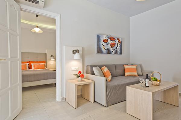 Mooie kamer van Selections appartement op Karpathos