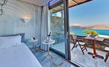 Mooie kamer en uitzicht an Royal Marmin Bay hotel