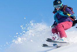 Skiën is een echte workout!