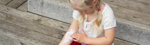 Kinderen zonneallergie