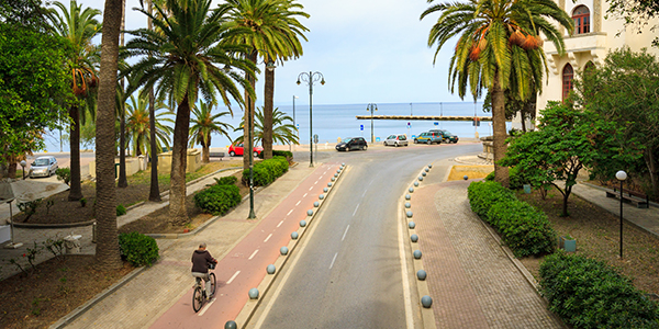Griekse promenade