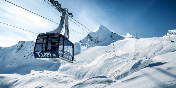 Zell am See Gletsjer skilift