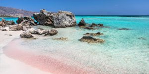 Elafonissi Beach, Kreta Griechenland