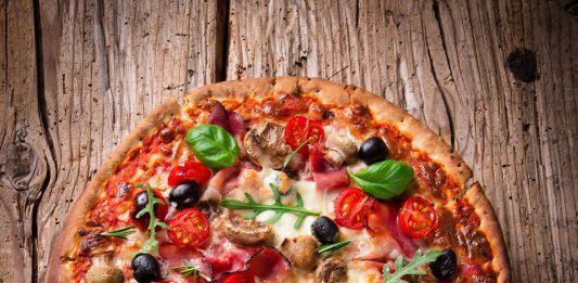 Italienische Pizza