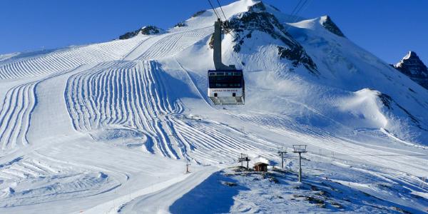 Tignes- Gletscher Ski