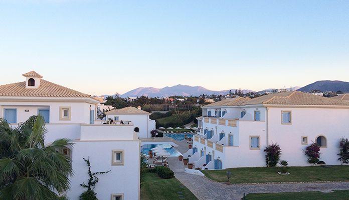 Ett hotell på Kreta