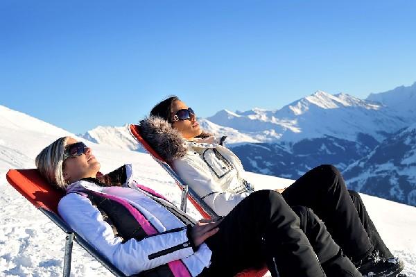 Bronzer au ski