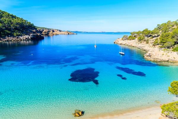 Crique à Ibiza