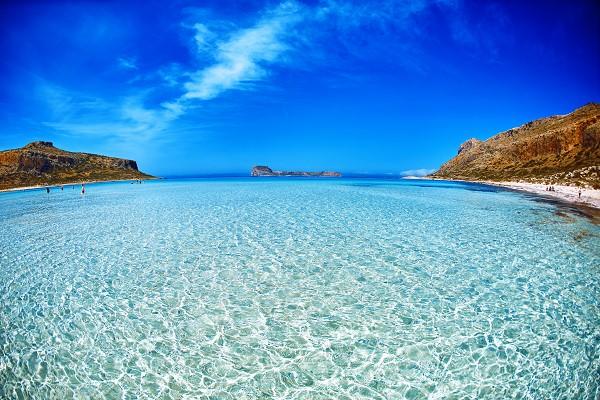 plage de sable Crète