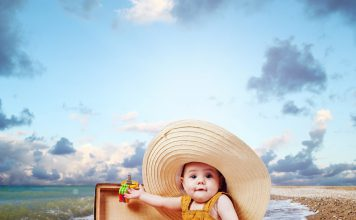Partir en vacances avec un bébé