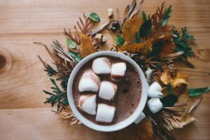 Alpine feeling at home with a Hot Chocolate