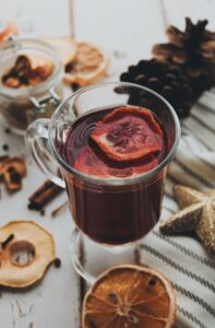Alpine feeling at home with a Mulled wine