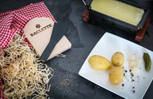 Alpine feeling at home with raclette